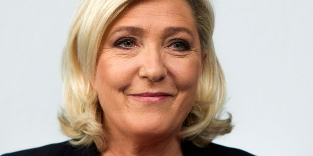 Marine Le Pen. Arkivbild. Michel Spingler / TT NYHETSBYRÅN/ NTB Scanpix