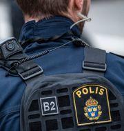 Polis.  Johan Nilsson/TT / TT NYHETSBYRÅN