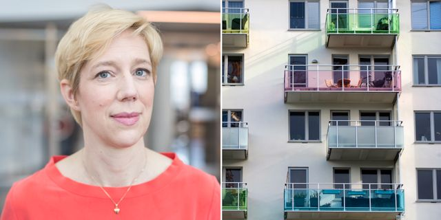 Swedbanks chefsekonom Anna Breman. TT