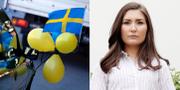 Lina Hultqvist, ordförande Sveriges Elevkårer.  TT/ Sveriges elevkårer