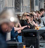 Vårvärme i Lund. Arkivbild.  Johan Nilsson/TT / TT NYHETSBYRÅN