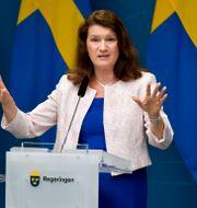 Utrikesminister Ann Linde. Anders Wiklund/TT / TT NYHETSBYRÅN
