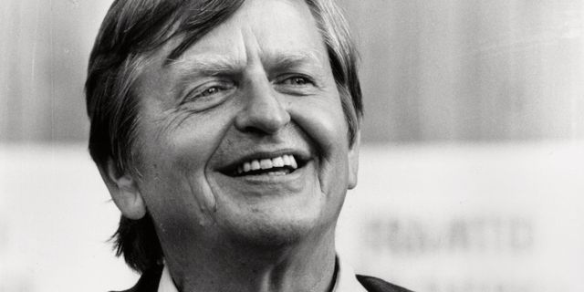 Olof Palme, arkivbild. JACK MIKRUT