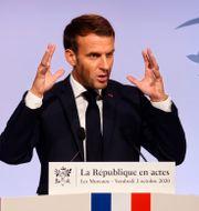 Arkivbild: Emmanuel Macron Ludovic Marin / TT NYHETSBYRÅN