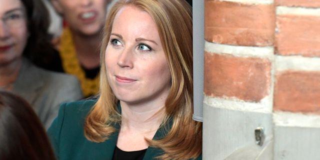 Annie Lööf (C). Janerik Henriksson/TT / TT NYHETSBYRÅN