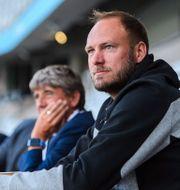 Andreas Granqvist på läktarplats under match mellan Malmö FF och Helsingborg den 5 augusti 2020. CHRISTOFFER BORG MATTISSON / BILDBYRÅN