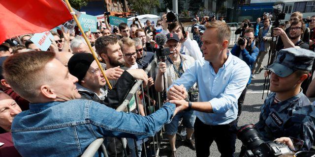 Alexei Navalny  SHAMIL ZHUMATOV / TT NYHETSBYRÅN
