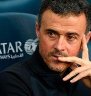 Spaniens coach Luis Enrique. LLUIS GENE / AFP