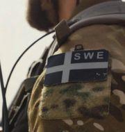 Svensk soldat i Mali. Försvarsmakten