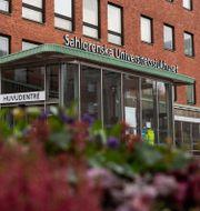 Huvudentrén vid Sahlgrenska Universitetssjukhuset.  MATHIAS BERGELD / BILDBYRÅN