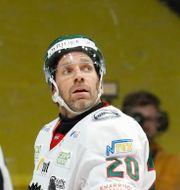 Lundqvist tilldelades ett matchstraff. Pär Bäckström/TT / TT NYHETSBYRÅN