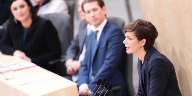 Pamela Rendi-Wagner, ledare för SPÖ. LISI NIESNER / TT NYHETSBYRÅN