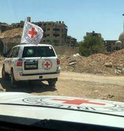 Arkivbild. ICRC i Syrien, 2016. TT / NTB Scanpix