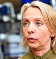 SAS kommunikationschef Karin Nyman Henrik Montgomery/TT / TT NYHETSBYRÅN