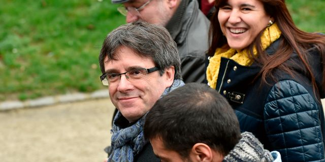 Carles Puigdemont JOHN THYS / AFP