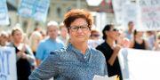 Vårdförbundets ordförande Sineva Ribeiro. Thomas Johansson/TT / TT NYHETSBYRÅN