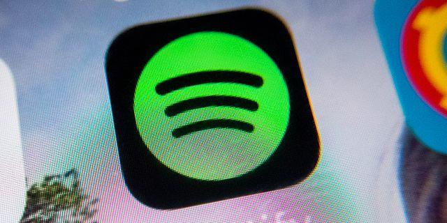 Spotify. Gorm Kallestad / TT NYHETSBYRÅN