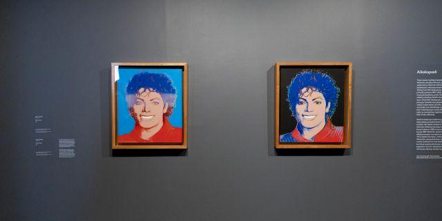 Bilder från Michael Jackson-utställningen i Finland. Lehtikuva Lehtikuva / TT NYHETSBYRÅN