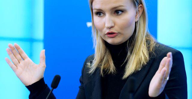 Ebba Busch Thor. Janerik Henriksson/TT / TT NYHETSBYRÅN