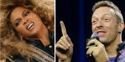 Beyoncé och Chris Martin. TT