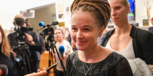 Amanda Lind. Fredrik Sandberg/TT / TT NYHETSBYRÅN