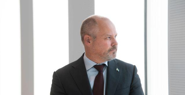 Morgan Johansson borde förstå åklagarnas värde för brottsbekämpningen, anser Expressens ledarsida. Fredrik Sandberg/TT / TT NYHETSBYRÅN