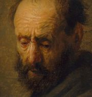 """""""Porträttet av en skäggig man"""" Ashmolean Museum, University of Oxford"""