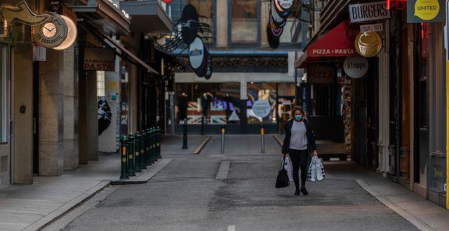 Bild från centrala Melbourne. Asanka Brendon Ratnayake / TT NYHETSBYRÅN