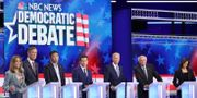 Bild från debatten. Drew Angerer / GETTY IMAGES NORTH AMERICA