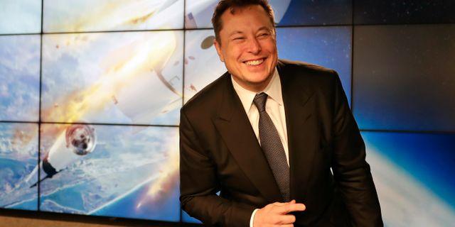 Arkivbild: Elon Musk John Raoux / TT NYHETSBYRÅN