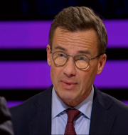 Ulf Kristersson SVT/Skärmdump