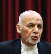 Afghanistans president Ashraf Ghani/Skatteverket. Illustrationsbild. TT
