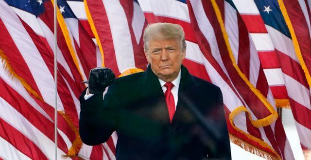 Donald Trump.  Jacquelyn Martin / TT NYHETSBYRÅN