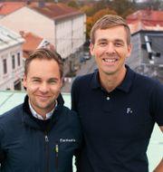 Fortinovas vd Anders Johansson och vice vdAnders Valdemarsson. Pressbild