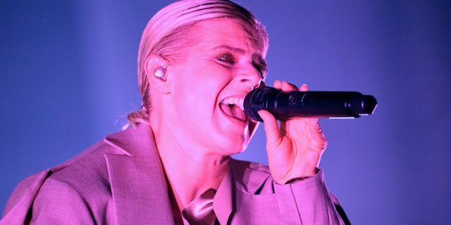 Robyn spelade i museiparken vid Sjöhistoriska museet i augusti. Fredrik Sandberg/TT / TT NYHETSBYRÅN