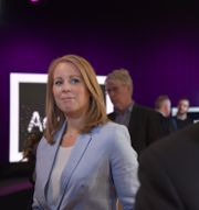 C-ledaren Annie Lööf och S-ledaren Stefan Löfven. Henrik Montgomery/TT / TT NYHETSBYRÅN