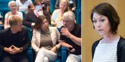 Mijöpartiets språkrör/Maria Ferm, migrationspolitisk talesperson   TT