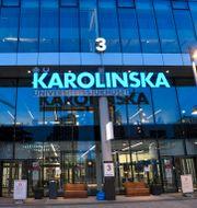 Nya Karolinska sjukhuset/Illustrationsbild Fredrik Sandberg/TT / TT NYHETSBYRÅN