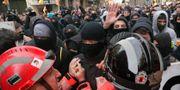 Demonstrationerna i Barcelona. Manu Fernandez / TT NYHETSBYRÅN/ NTB Scanpix