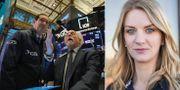 Arkivbilder: Börshandlare på Wall Street, Maria Landeborn. TT