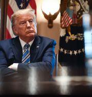 USA:s president Donald Trump.  BRENDAN SMIALOWSKI / TT NYHETSBYRÅN