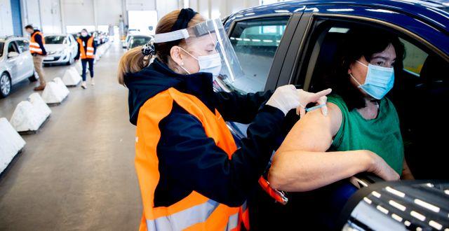 Vaccination i Trollhättan. Arkivbild. Adam Ihse/TT / TT NYHETSBYRÅN