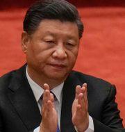 Xi Jinping.  Andy Wong / TT NYHETSBYRÅN