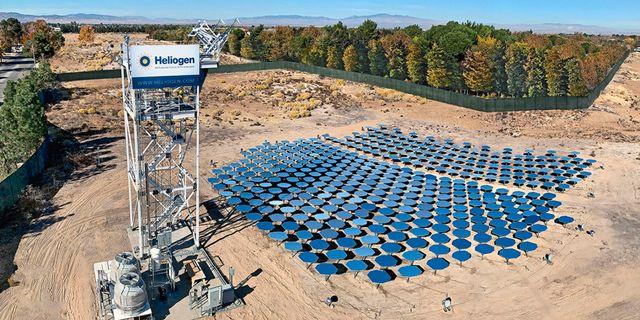 Heliogens solkraftfält.  Heliogen