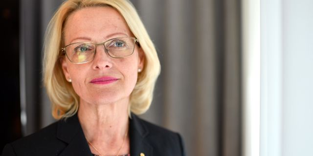Heléne Fritzon. Anders Wiklund/TT / TT NYHETSBYRÅN