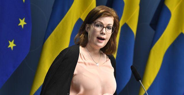 Anna Starbrink.  Claudio Bresciani/TT / TT NYHETSBYRÅN