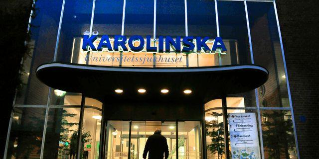 Stor platsbrist pa stockholms sjukhus