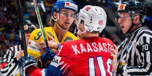 sverige norge hockey
