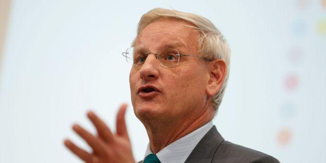 Carl Bildt. Sören Andersson / TT / TT NYHETSBYRÅN
