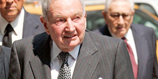 Rockefeller 2007. Jeff Zelevansky / TT NYHETSBYRÅN